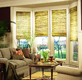 Lift System for Woven Wood Shades